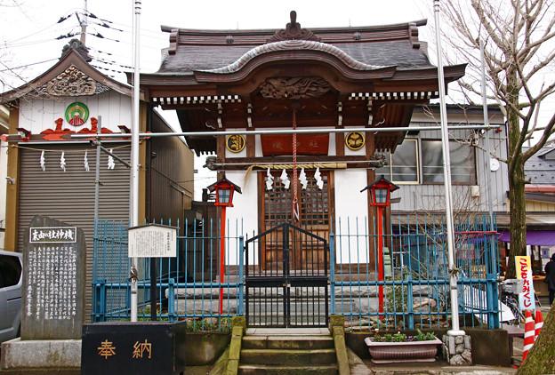 Photos: 機神社 埼玉県蕨市