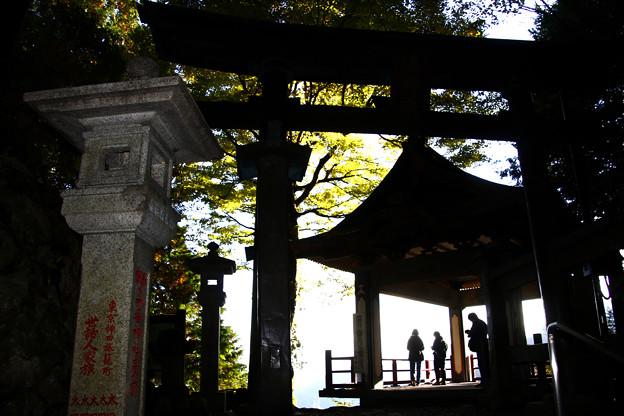 三峯神社(遥拝殿) 埼玉県秩父市