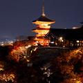 Photos: 清水寺ライトアップ