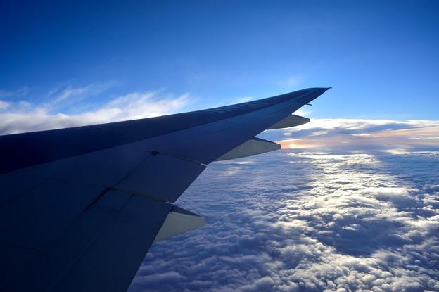 機窓からの眺め