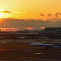 Photos: Twilight Takeoff