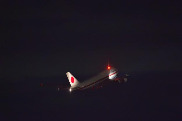 CYGNUS・B744 Takeoff