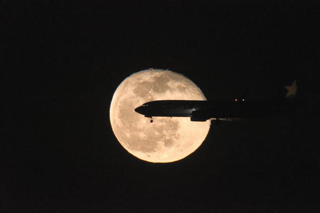 Photos: 降りの月ドン
