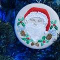 写真: 刺繍クリスマス