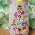 写真: 刺繍クリスマスツリー