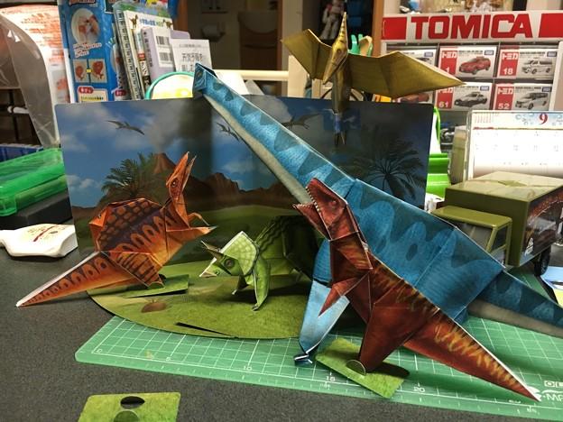 オリガミ恐竜35
