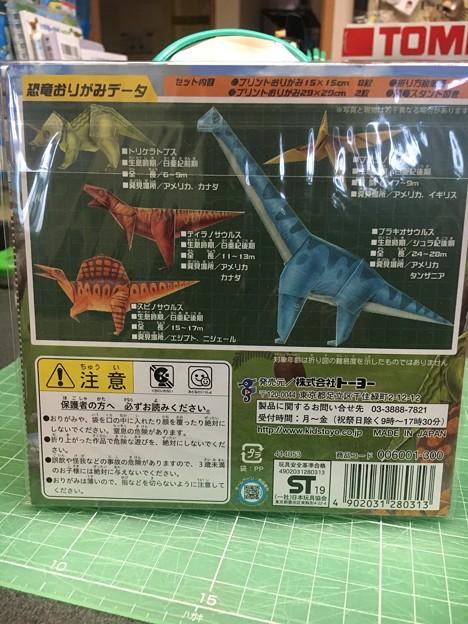 Photos: オリガミ恐竜02