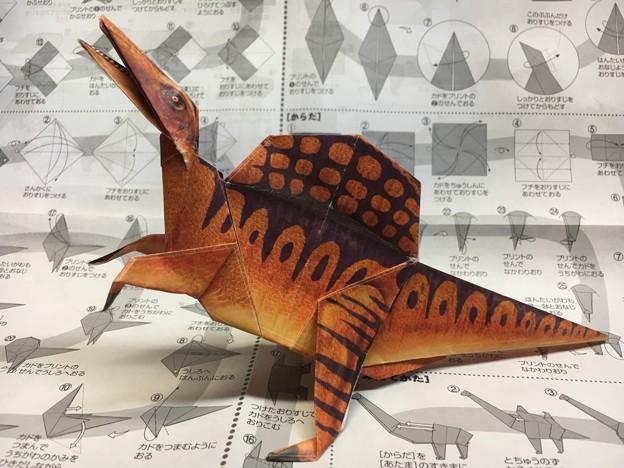 オリガミ恐竜08