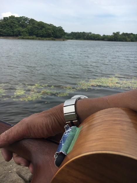 愛知池畔で白秋と南吉29