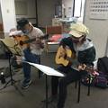 みよし市地域活動支援センターでギターデュオ2020年10月20日06