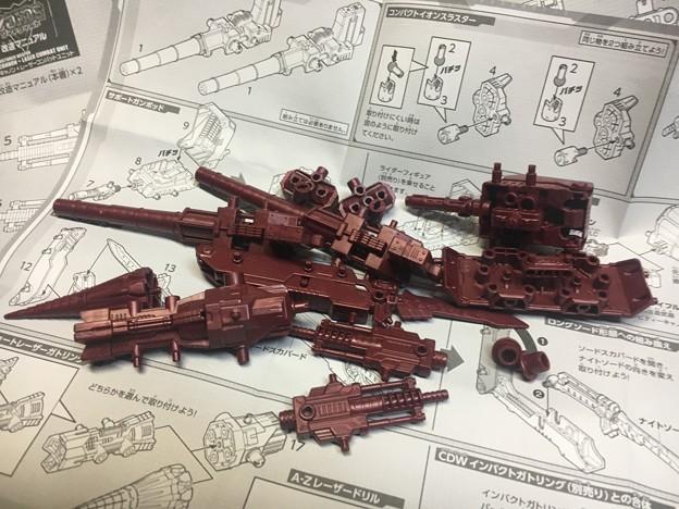 ゾイドワイルド改造武器zw49&zw50はzw50から05