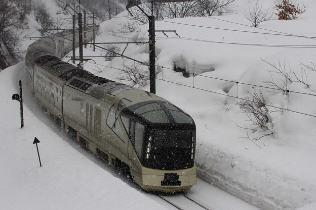 四季島 回送列車
