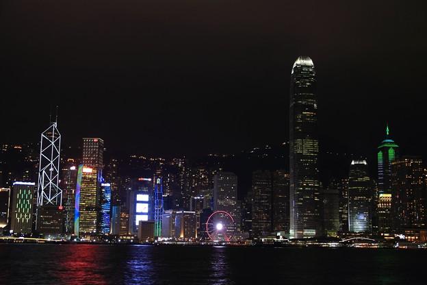 尖沙咀東部海浜公園から見る夜景