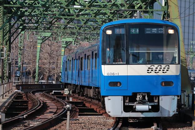 京急600形ブルースカイトレイン