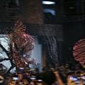 写真: 中秋の夜  火竜の舞