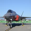写真: F-35B正面左