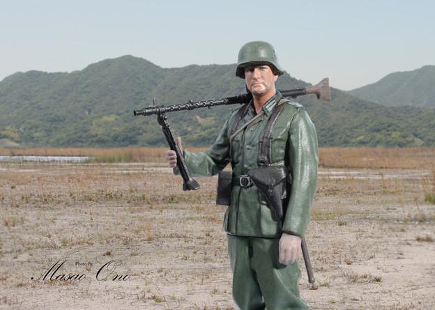 寅さんMG34兵士横