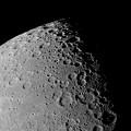 上弦すぎの月面南部