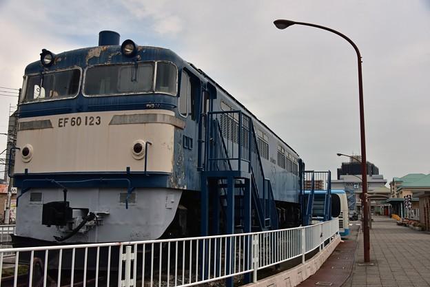Photos: EF60 123 再び