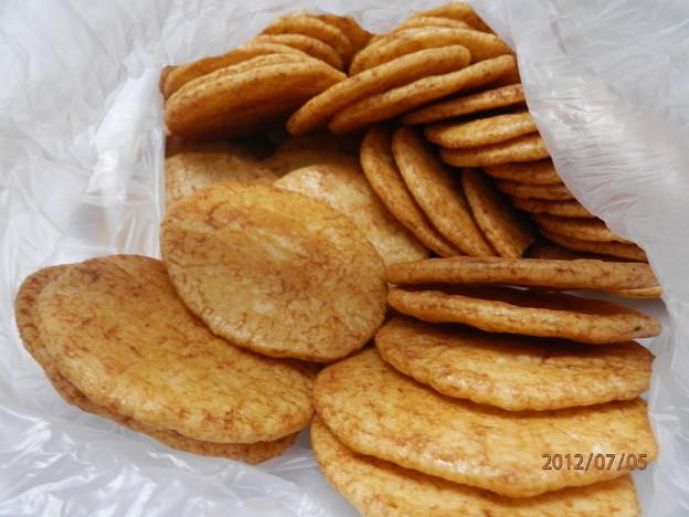 ニンニク煎餅