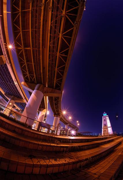 写真: 旧堺燈台illujion-02322