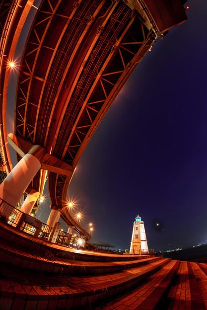 旧堺燈台熱帯夜-02321