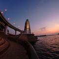 写真: 旧堺燈台magicH-02262