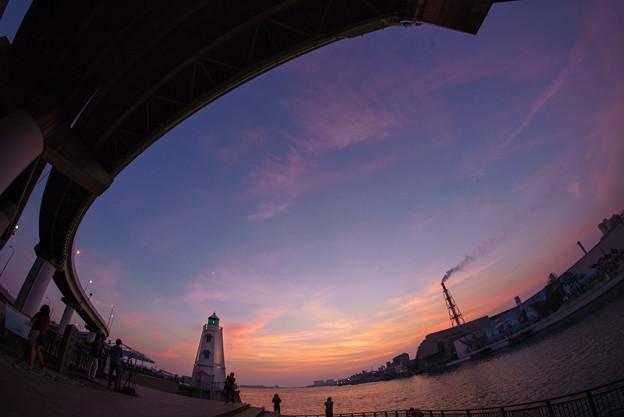 写真: 旧堺燈台magicH-02234