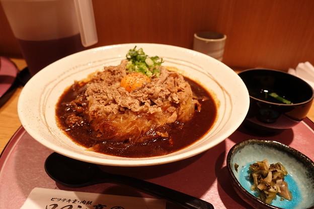 カレー牛丼DSC04470