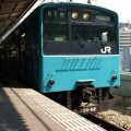 Photos: 102 大阪到着後、大阪環状線を1周する