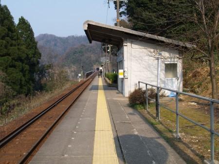 駅舎のようす