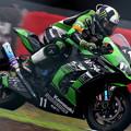 #11 レオン・ハスラム選手 Kawasaki Team GREEN