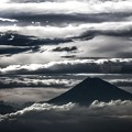 写真: 梅雨のあとさき・・・Mt.Fuji