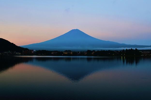 写真: 真夏の朝ぼらけ ~Mt.Fuji~