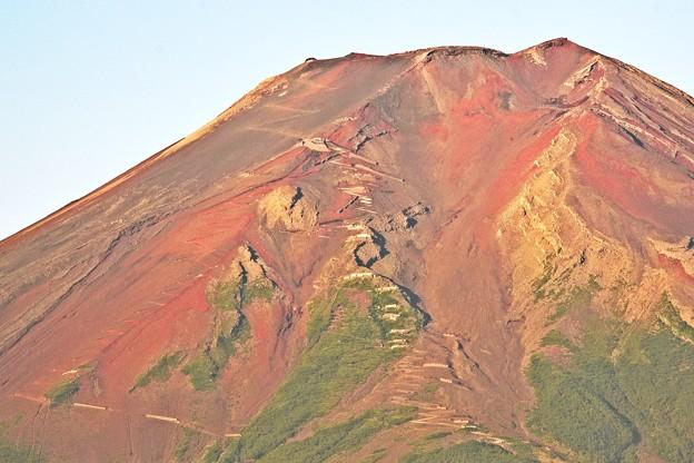 赤富士 ~天空への途~