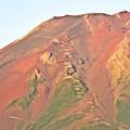 写真: 赤富士 ~天空への途~