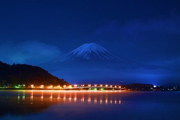月夜の晩に・・・富士を撮る(其の弐)