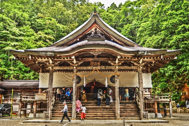 Photos: パワースポット ~戸隠神社 中社~