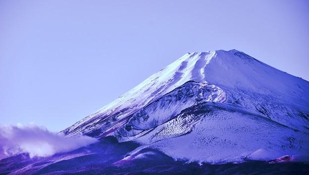 冬がはじまるよ・・・Mt.Fuji