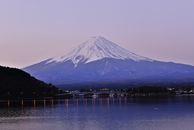 Photos: 夜明けのMt.FUJI