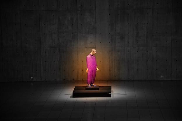 Photos: 紫の服の男 ~Giuliano Vangi~
