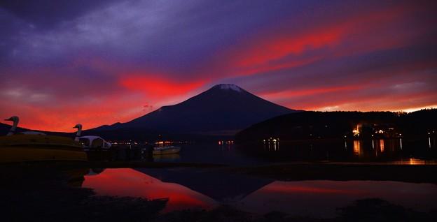 Photos: 今冬最初の・・・マジックアワー