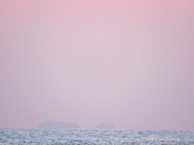 0195 最後はピンクの空