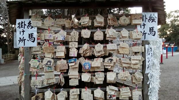 鷲宮神社の絵馬の数々