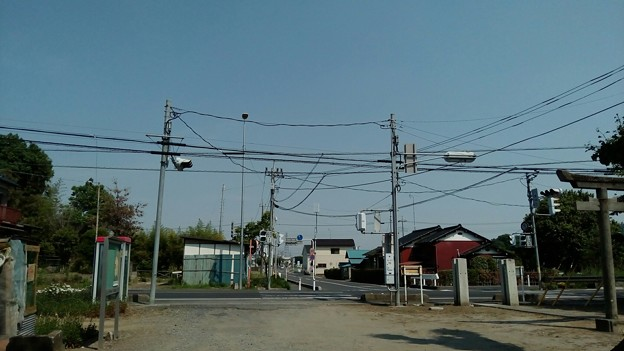 写真: 杉戸町下野集会所のところから撮影5