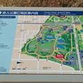 舎人公園の案内図2