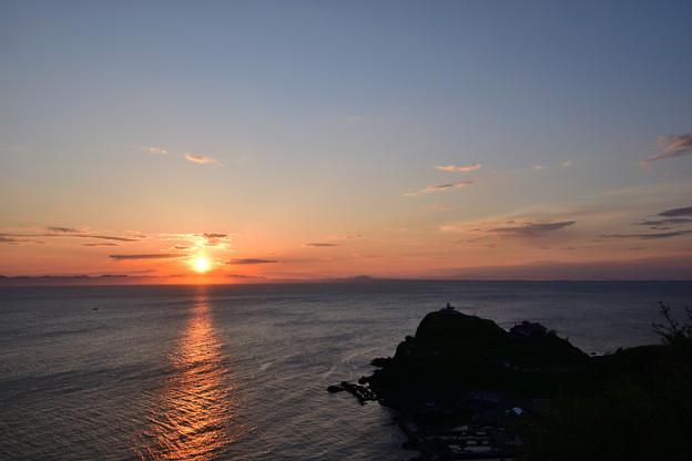 写真: 小樽の夜明け1