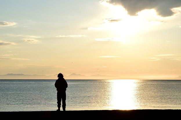 写真: 小樽の夜明け4