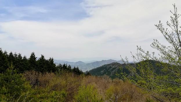 郷路岳展望台の眺望