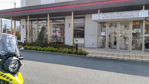 カタシマ丹波店でスイーツをお土産に